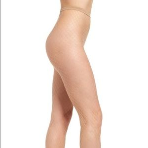 OROBLU CARRY OPEN NET FISHNET TIGHTS IN NUDE S/M